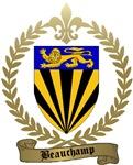 BEAUCHAMP Family Crest