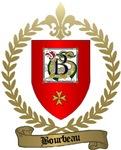 BOURBEAU Family Crest