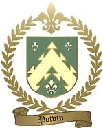 POTVIN Family Crest