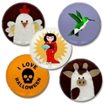 Mini 1 inch Buttons