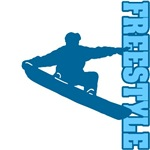 Freestyle Snowboard (Blue)