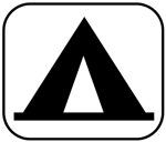 Camping pocket logo