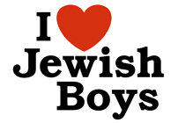 I Love Jewish Boys t-shirts