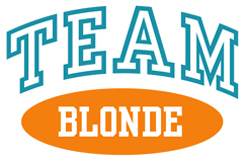 TEAM BLONDE t-shirts