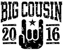 Big Cousin 2016 t-shirt