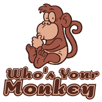 Who's Your Monkey t-shirts