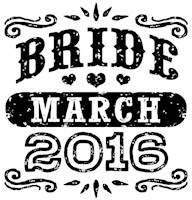 Bride March 2016 t-shirt