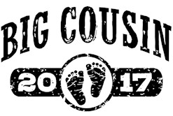 Big Cousin 2017 t-shirt