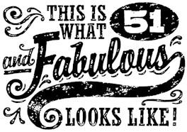 51st Birthday t-shirt
