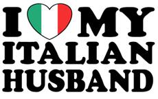 I Love My Italian Husband t-shirts