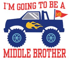 Middle Brother t-s
