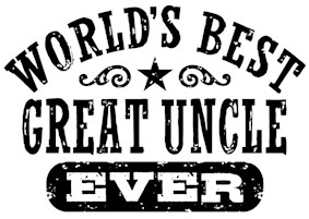 World's Best Great Uncle Ever t-shirt