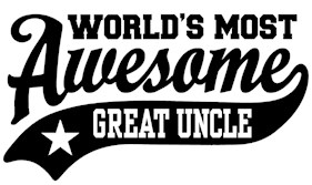 World's Most Awesome Great Uncle t-shirt