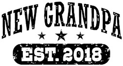 New Grandpa Est. 2018 t-shirt