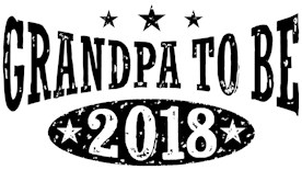 Grandpa To Be 2018 t-shirts