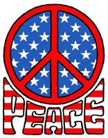 Peace Stars and Stripes t-shirt
