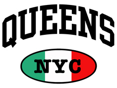 Italian Queens NYC t-shirts