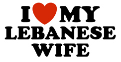 I Love My Lebanese Wife t-shirt