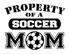 Property of a Soccer Mom t-shirt