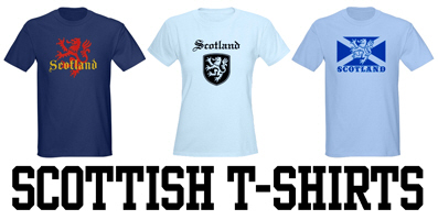 Scottish t-shirts
