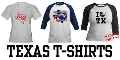 Texas t-shirts