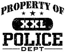 Property of Police Department t-shirts