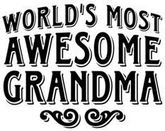 World's Most Awesome Grandma t-shirt