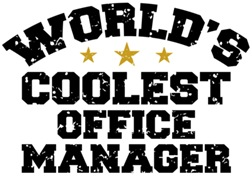 World's Coolest Office Manager t-shirts