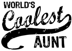 World's Coolest Aunt t-shirts
