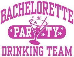 Bachelorette Party Drinking Team