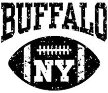 Buffalo NY Football t-shirts