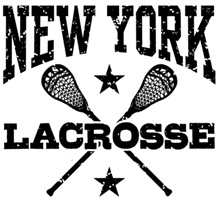 New York Lacrosse t-shirts