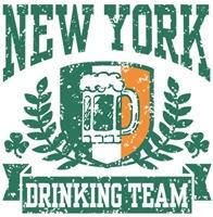 New York Irish Drinking Team t-shirts