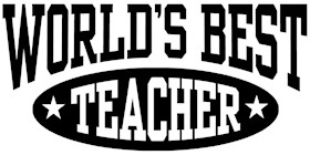 World's Best Teacher t-shirts