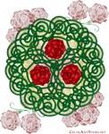Celtic Art Roses