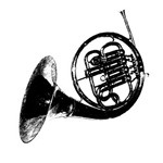 Black French Horn WEAR