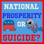 Prosperity or Suicide?