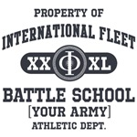 Property of [YOUR ARMY] Battle School