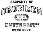 'Vintage' Drunken University. Wine Dept.