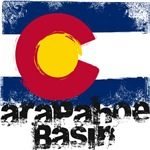 Arapahoe Basin Grunge Flag
