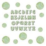 Tennis Alphabet