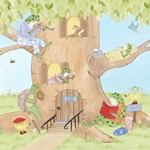 Frogs in Tree House
