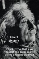 20th Century Genius Mind: Einstein Pure Thought
