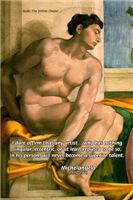 Michelangelo Artist Eccentricity Nude Painting
