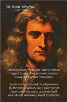 Sir Isaac Newton: Absolute Space
