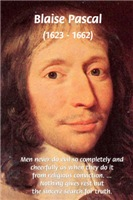 Blaise Pascal on Truth Religion Evil