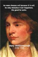 Vindication of the Rights of Women: Wollstonecraft
