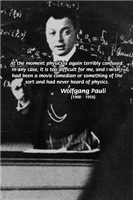 Wolfgang Pauli: Principles in Physics