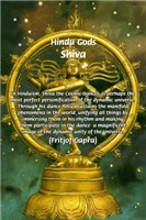 Cosmic Dancer Shiva: Dynamic Unity of the Universe