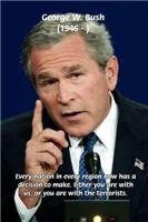 Terrorism George W. Bush: United Nations